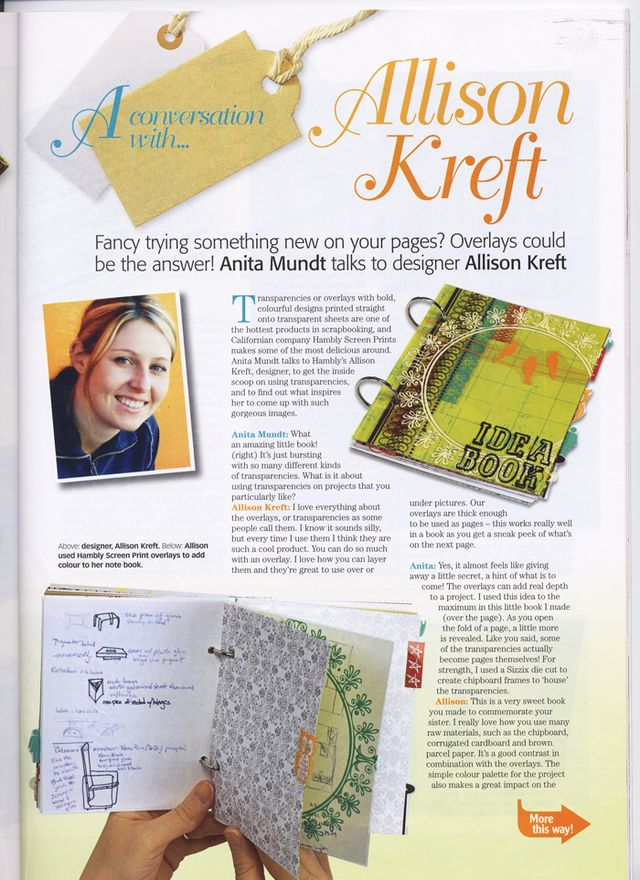 Scrapbook Inspirations-UK Publication